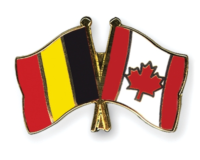 Pins-Belgique-Canada