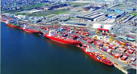 Visite des installations du port de Montréal