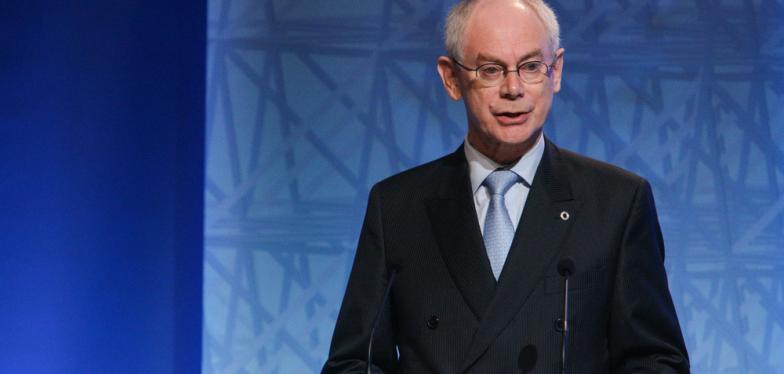 Herman Van Rompuy reçoit un doctorat honorifique au Canada