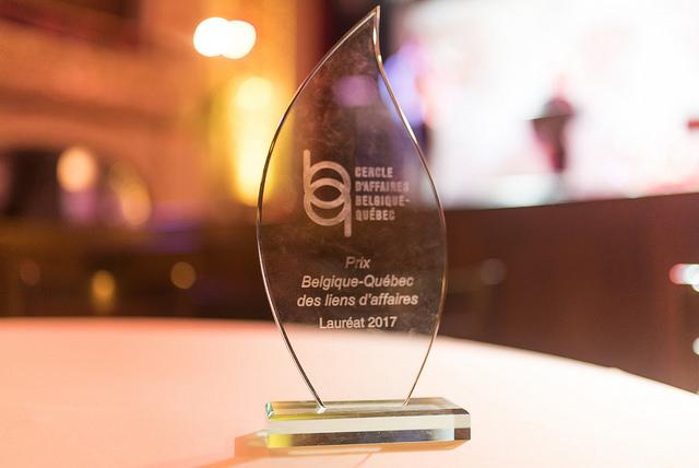 2 Prix Belgique-Québec des liens d'affaires en 2018