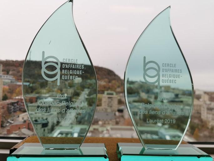 Prix Belgique-Québec-Belgique des liens d'affaires 2019
