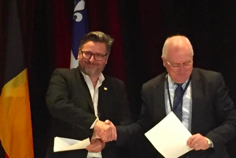 La CanCham BeLux et le CABQ signent une entente de partenariat